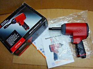 New Chicago Pneumatic Cp749 2 1 2 Drive Air Impact Wrench W 2 Extended Anvil