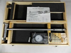 6 10 Dial Indicator Bore Gage Set new