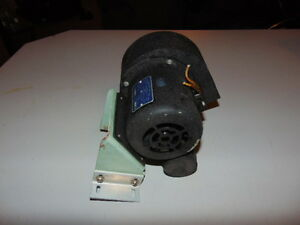 Eastern Air Devices 120 Volt Squirrel Cage Blower Fan J57 7c 8 Rpm 3300
