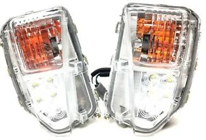 Drl Led Fog Lamp Signal Lights Rh Lh W Harness Set For Toyota Prius 2012 2015