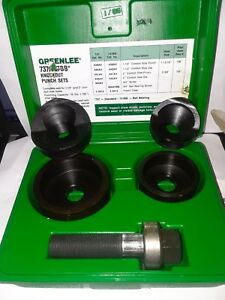 New Greenlee 737bb Manual Knockout Punch Kit For 1 1 2 2 Conduit