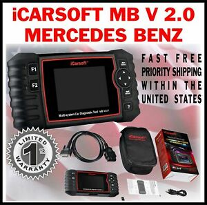 Icarsoft Mbii For Mercedes Benz Sls C197 Obd2 Diagnostic Code Fault Scan Tool