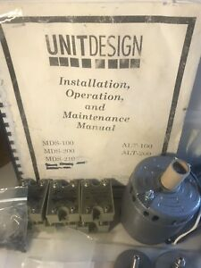 Unitdesign Mds 210 Solder Wave Parts Spare Parts operation Maintenance Manual