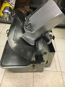 Globe 725 Commercial Automatic Deli Meat Cheese Slicer 1255