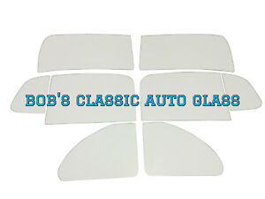1942 1946 1947 1948 Chevrolet Convertible 8pc Classic Glass Chevy Flat Windows