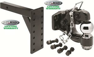 Pintle Hook Receiver Mount 8k 11 3 8 Drop Combo 2 5 16 Trailer Hitch Ball 16k