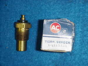 Nos Corvette 1513321 Ac 63 64 65 66 67 Engine Temperature Sending Unit Gauge