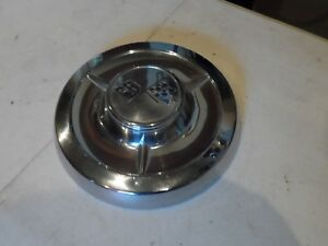 Nos 1958 58 Chevy Impala Biscayne Belair Dog Dish Hub Cap Oem Gm Hot Rod Sk