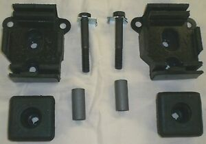 67 71 Chevy gmc Truck Big Block Rubber Motor Mounts Pair Tower 1967 1969 1971 70