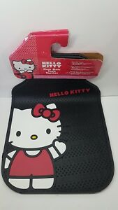 2 Pcs Hello Kitty Front Rubber Floor Matts Universal Car Truck