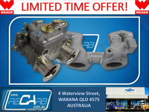Suits Nissan Datsun A12 120y Genuine Weber 40 Dcoe Single Sidedraft Carb Upgrade