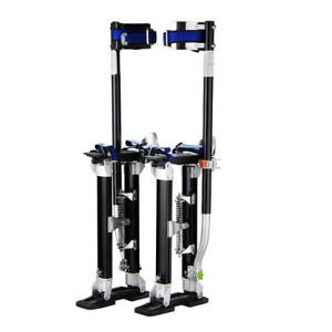 1120 Pentagon Tool tall Guyz Professional 24 40 Black Drywall Stilts For Or