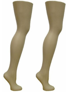 2 Free Standing Female Mannequin Leg Sock And Hosiery Display Foot 28 Tall Or