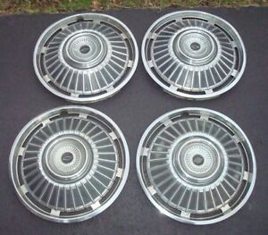 1964 Chevy Chevelle Chevrolet 14 Hubcaps Wheel Covers Vintage Classic Free S