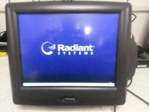 Ncr Radiant P1520 Pos Terminal Used And Tested Good