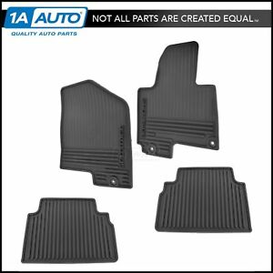 Oem All Weather Floor Mat Kit Premium Molded Rubber Set Of 4 For 10 13 Sportage