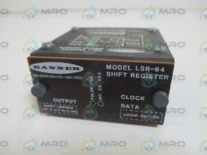 Banner Lsr 64 Shift Register Used