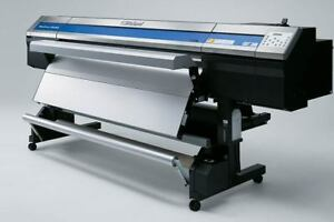 Roland Soljet Pro 4 Xr 640 Large Format Printer cutter With Metallic And White