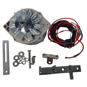 Ih Farmall M Mv 400 450 Alternator Conversion Kit 12 Volt W Harness