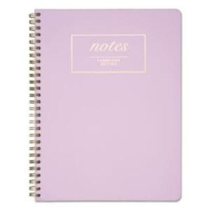 Mead 59309 Workstyle Notebook Legal Rule Lavender Cover 7 1 4 X 9 1 2