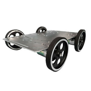 C600 Metal Robot Car Chassis Smart Wheeled Vehicle Large Load Car Chassis