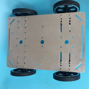 C600 Metal Robot Car Chassis Smart Wheeled Vehicle Large Load Chassis Kit