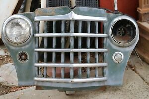 1950 51 Willys Jeepster Front Clip