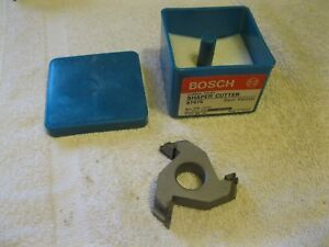 Bosch Shaper Cutter Carbide Tipped 3 4 Bore 87975 Nos