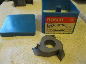 Bosch Shaper Cutter Carbide Tipped 3 4 Bore 87947 Nos