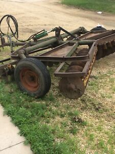 John Deere Rw Field Disc Harrow 11 Food Plots