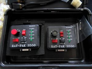 3 Rat pak S150 S550 Transmission Testers With 12 Harnesses Free Shipping
