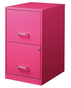 File Cabinet Steel 2 Drawer Filing Locking Home Office Vertical Letter Storage