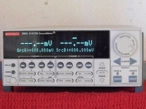 Keithley 2602 Sourcemeter Smu 2 channel