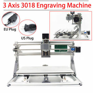 Grbl Milling Machine Engraver Cnc Router Pcb 3 Axis 3018 Desktop Pre built In Ri