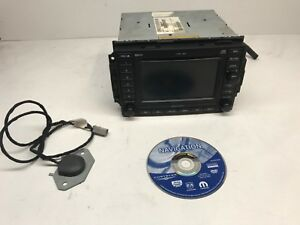 Dodge Chrysler Jeep Cd Changer Dvd Gps Navigation Stereo Radio Rec 05064184am