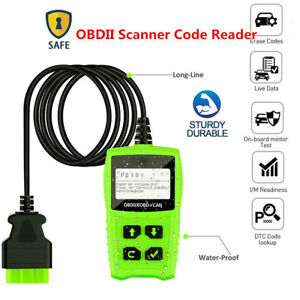Lcd Obdii Can Scanner Code Reader Engine Trouble Obd2 Scan Diagnostic Tool Handy