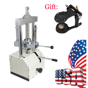 Fda Dental Lab Durable Hydraulic Press Flask Presser 2t Pressure Articulator