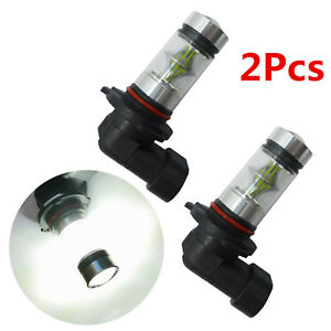 2x 100w 9006 Hb4 Cree Led Fog Light High Power Driving White Drl