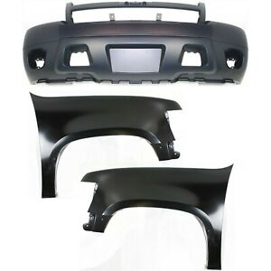 Auto Body Repair For 2007 2014 Chevrolet Tahoe Front Left Right Set Of 3