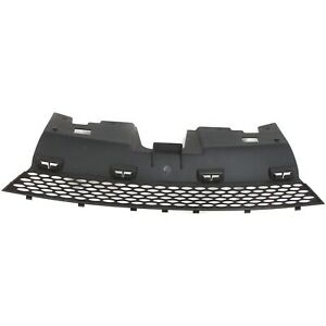 Grille For 2003 2004 Saturn Ion Sedan Textured Black Plastic