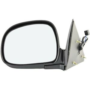 New Mirror Driver Left Side For Chevy Olds S10 Pickup Lh Hand Gm1320185 15151117