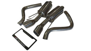 Top Speed Pro 1 Axle Back Exhaust System Fits 2005 13 Chevy Corvette C6 Stingray