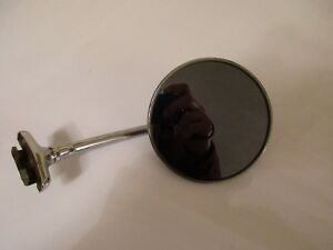 Vintage Car Truck Side Mirror Smoke Tinted Glass Hot Rod Rat Rod