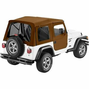 Bestop 54709 37 Soft Top For 97 2006 Jeep Wrangler Tj