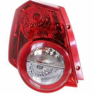 Tail Light For 2009 2011 Chevrolet Aveo5 2009 2010 Pontiac G3 Lh Hatchback
