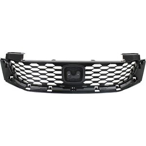 Grille 2013 2015 For Honda Accord Coupe Black 2 door Coupe
