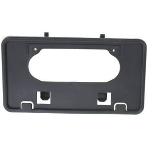 For 2009 2014 Ford F150 Front Bumper License Plate Holder Mounting Bracket 09 14