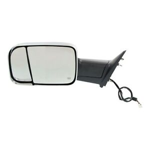 Kool Vue Power Mirror For 2013 2017 Ram 1500 Left Heated Chrome Folding W Memory