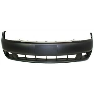 Front Bumper Cover For 2008 2009 Ford Taurus W Fog Lamp Holes Primed