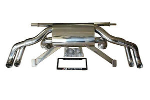 Top Speed Pro 1 Performance Race Spec Exhaust For 2009 2013 Audi R8 5 2l V10